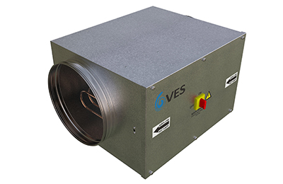 VES heater battery Heatline air handling unit