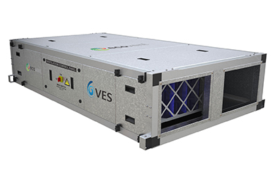 VES premium efficiency Ecovent Counterflow heat recovery air handling unit