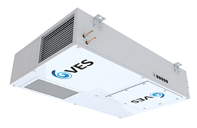 VES low power fan Ecovent Hybrid heat recovery air handling unit