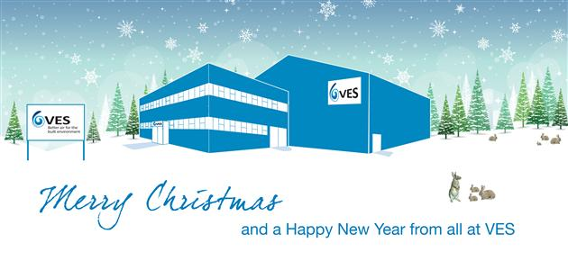 Merry Christmas and a Happy New Year from everyone at VES!
