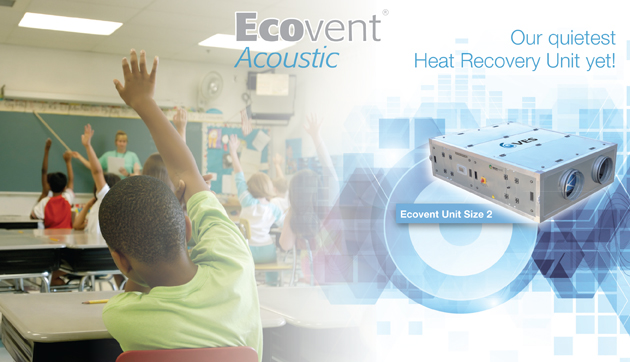 acoustic heat recovery ventilation used in schools