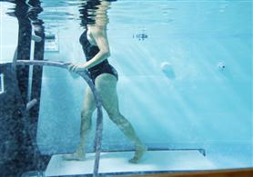 Hydrotherapy pool saves on energy bills