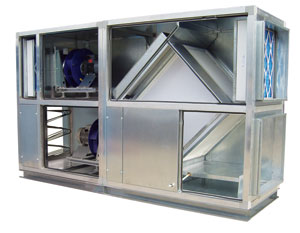 Ecovent Heat recovery ventilation system Duties up to 2.5m3/s