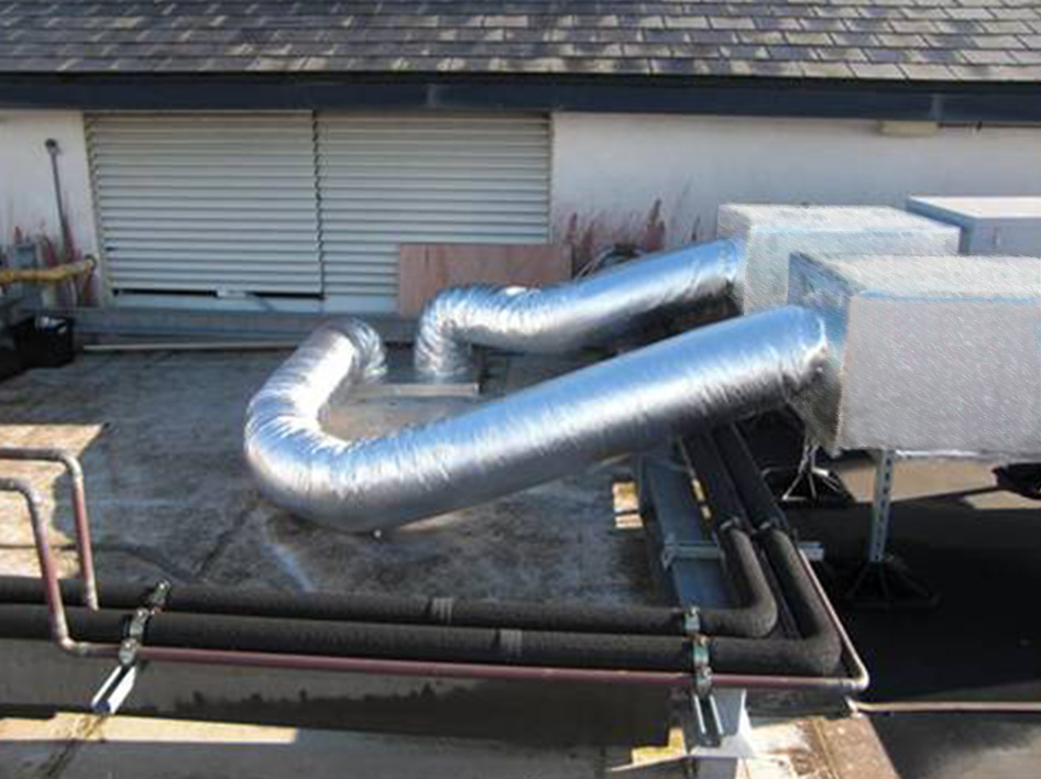 Temp ducted heating