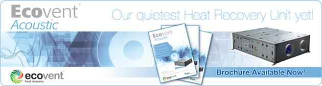 Ecovent Acoustic Brochure Now Available