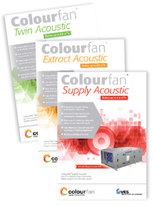 Colourfan Acoustic Range Now Available