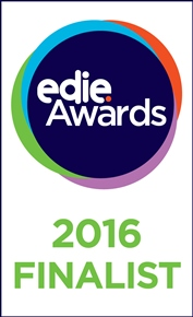 We've reached the finals of the 2016 edie awards!