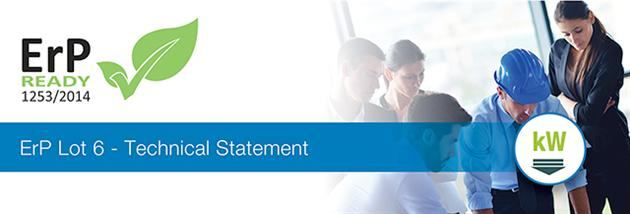 ErP Technical Statement now available from VES