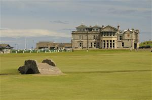 Clubhouse, St Andrews Links, Scotland